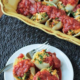 Pumpkin and Kale Stuffed Shells