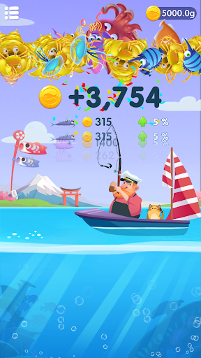 Code Triche Fishing Fantasy - Catch Big Fish, Win Reward APK MOD (Astuce) screenshots 1