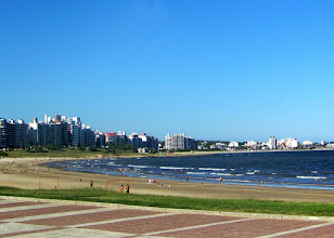 Photo: Accidental tour of Montevideo was pretty and besides, we missed this on the return trip.