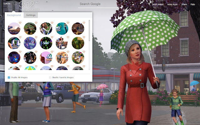 Sims 3 Game Wallpapers Hd New Tab