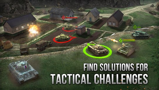 Armor Age: Tank Wars — WW2 Platoon Battle Tactics Apk Download For Android and Iphoe 4