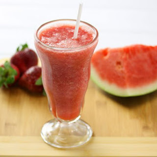 Strawberry & Watermelon Juice.