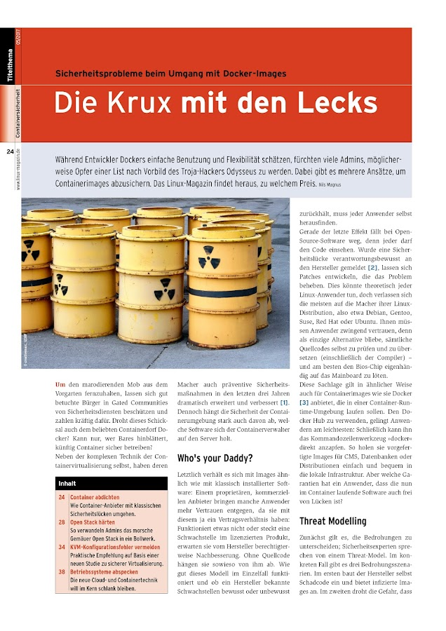 Linux-Magazin- screenshot