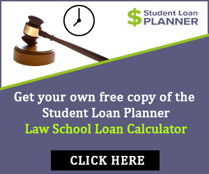 law school loan calculator