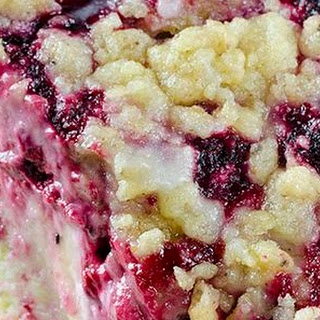Raspberry Cream Cheese Coffee Cake
