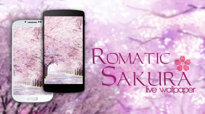 Romatic Sakura Live Wallpaper - screenshot