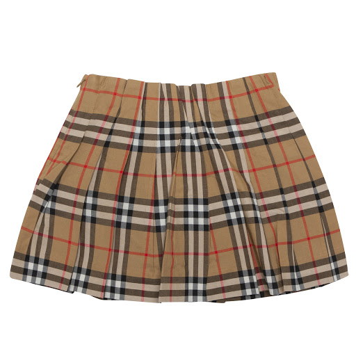 Thumbnail images of Burberry Pearl Check Skirt
