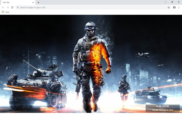 Battlefield New Tab & Wallpapers Collection