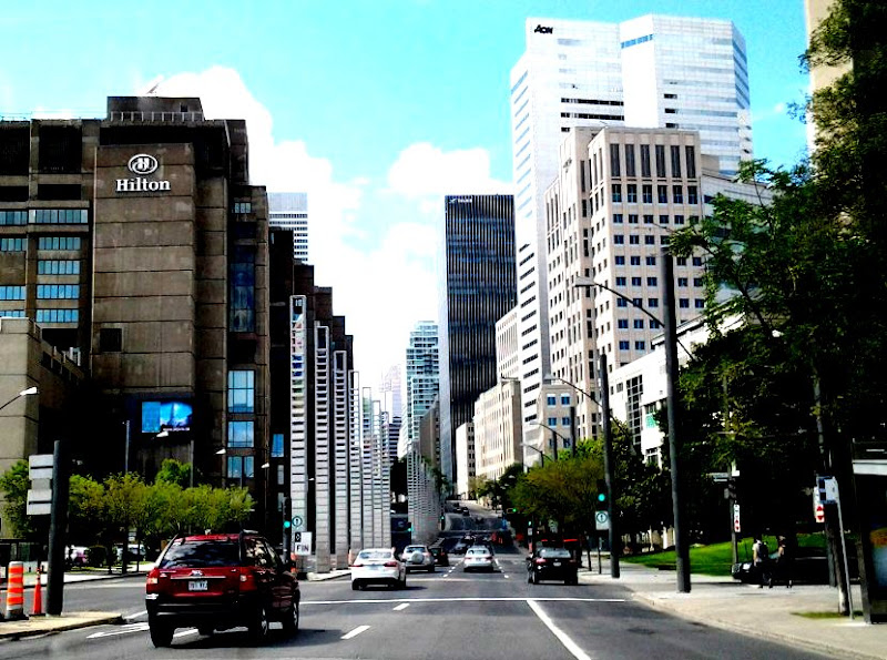 Montreal - punti di fuga canadesi di towerofbear