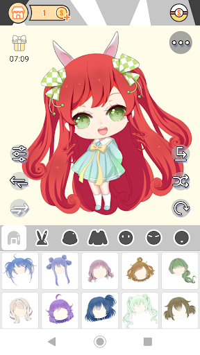 Cute Girl Avatar Factory 1.0.2 Mod screenshots 2