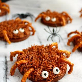 Chocolate Sugar Cookie Spiders.