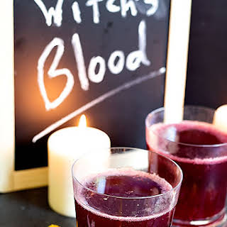Witch's Blood – Halloween Drink.
