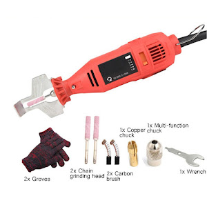 Aparat electric 220 V, portabil - ascutitor pentru lant drujba