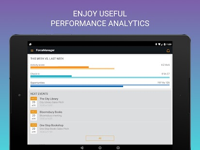 ForceManager mobile CRM- screenshot thumbnail