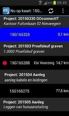 Klic App - screenshot