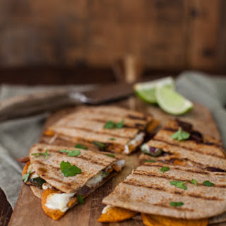 Spiced Sweet Potato Quesadilla Recipe