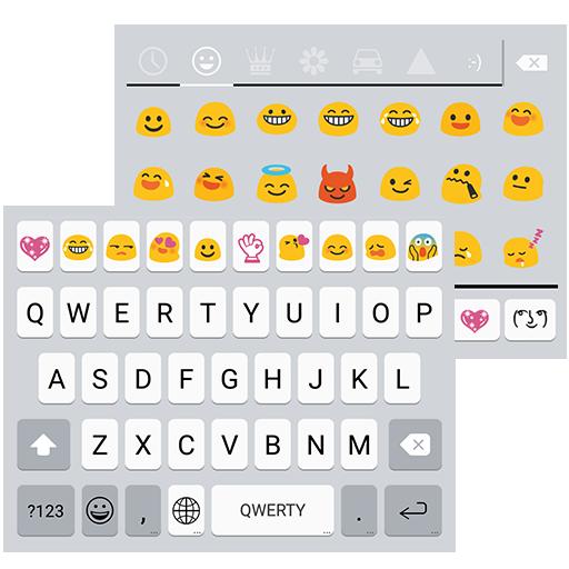 OS9 Emoji Keyboard Theme