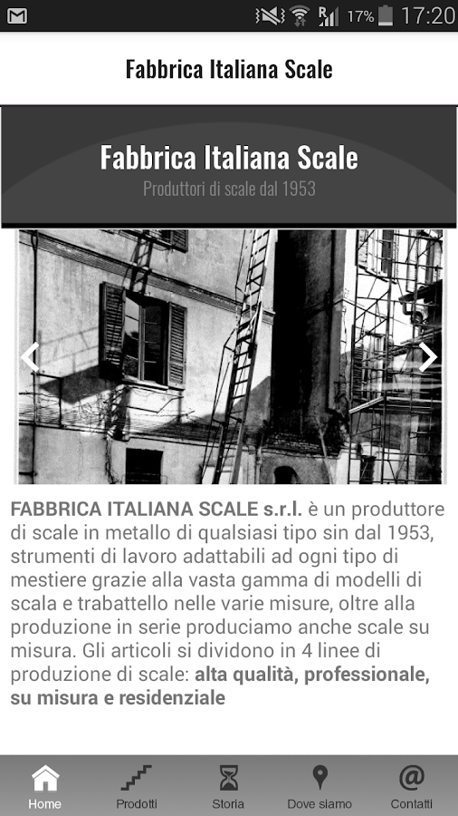 Fabbrica Italiana Scale- screenshot