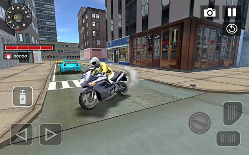 Sports bike simulator Drift 3D apkpoly screenshots 7