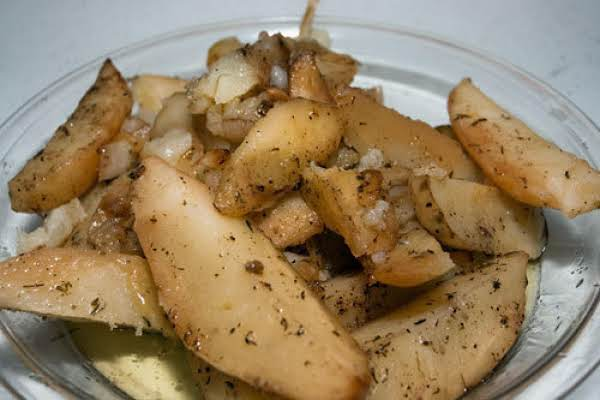 Fried Greek Potatoes Recipe