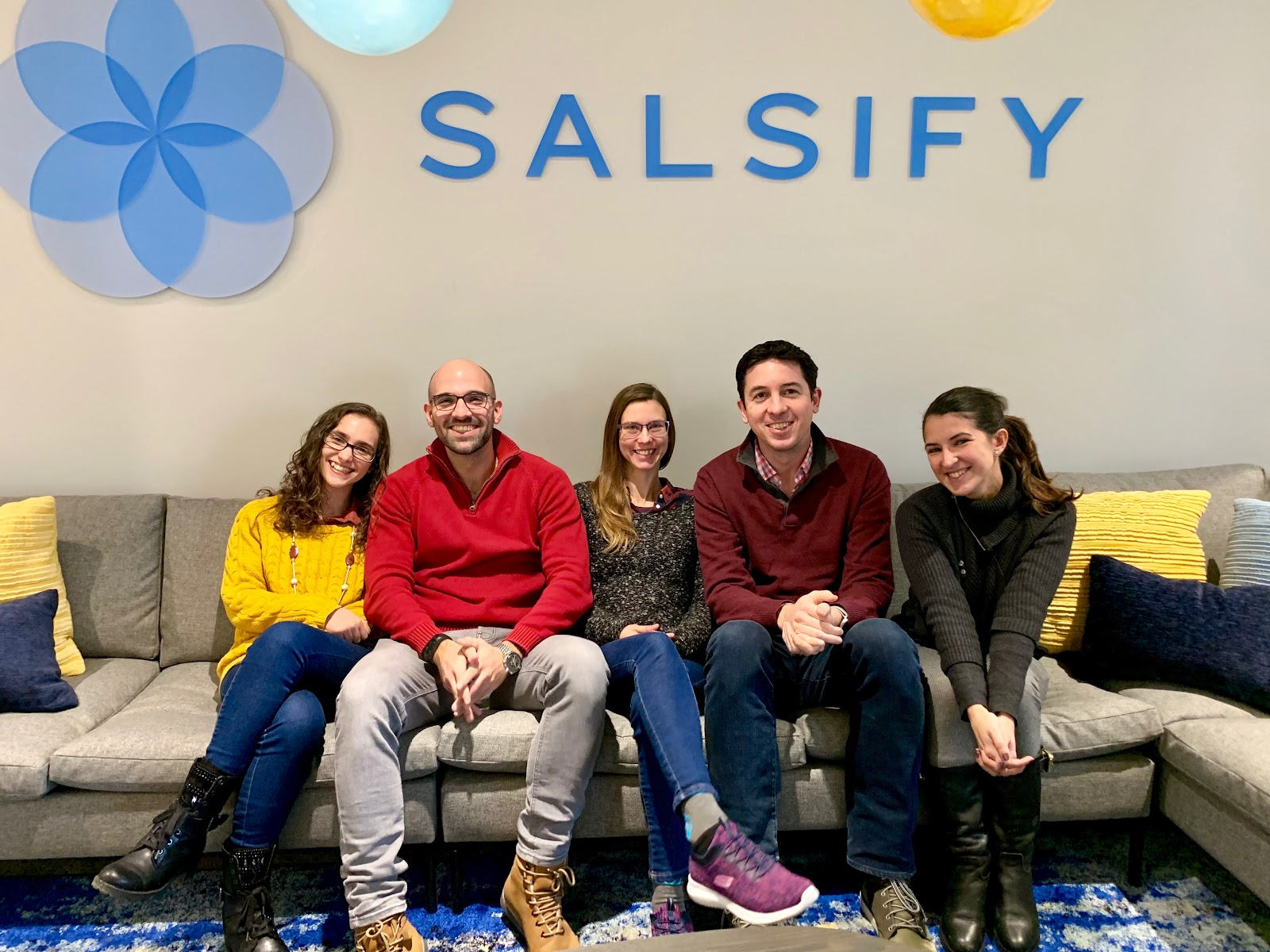 Salsify's team at its office