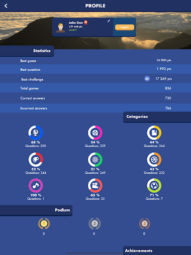 Trivial Quiz - The Pursuit of Knowledge 1.8.2 screenshots 11