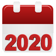 Calendar 2020 : agenda, events, reminders