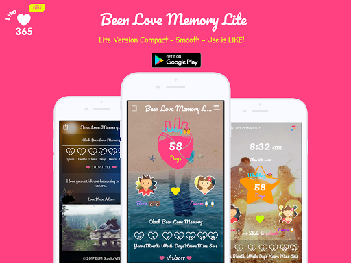 Been Love Memory Lite - Love Counter Lite 2020 Apk 1
