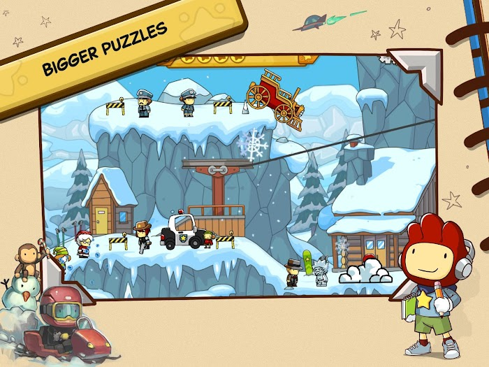 Scribblenauts Unlimited- screenshot