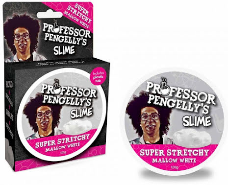 Professor Pengelly's Putty - Super Stretchy White Slime