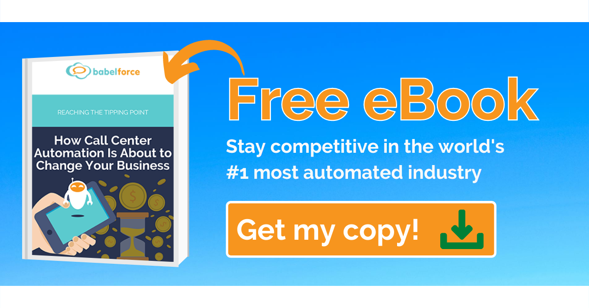 Get your free eBook on Contact Center Automation