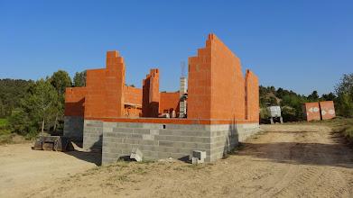 Photo: uitsparing schuifpui woonkamer