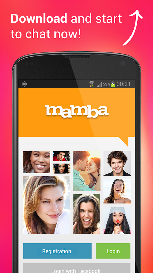 Mamba dating – adult chat for single people- screenshot