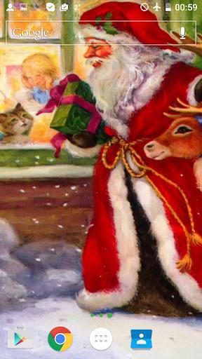 クリスマス物語はライブ壁紙