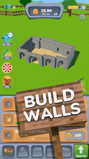 House Craft 3D - Idle Block Building Game 0.9.2 screenshots 1
