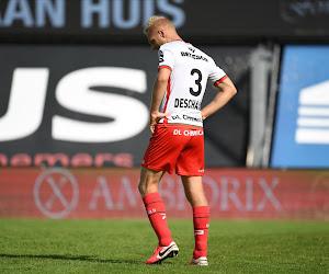 """Deschacht fait son mea culpa: """"Difficile de critiquer l'équipe quand je suis aussi mauvais"""""""