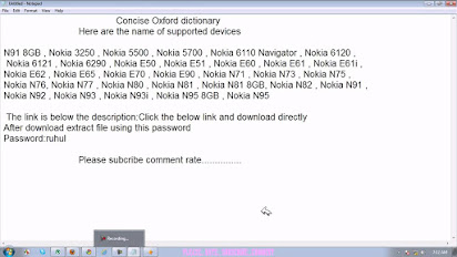 Nokia n81 dictionary download