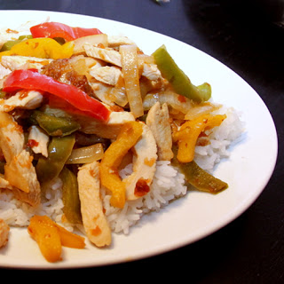 Hot Gringas' Sweet Chili Chicken.