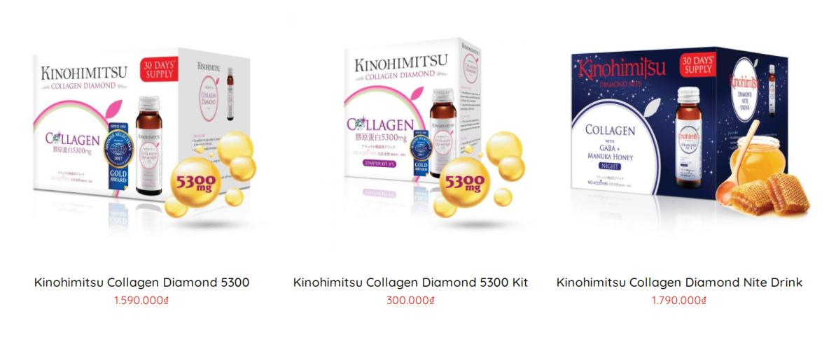Giá bán 1 số sản phẩm tham khảo