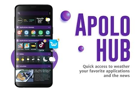 Apolo Launcher: Boost, theme, wallpaper, hide apps MOD (Premium) 3