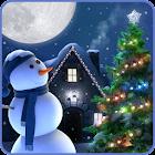 Christmas Moon Live Wallpaper icon
