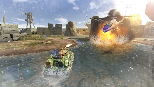 Massive Warfare – – لعبة دبابات مجانية 4