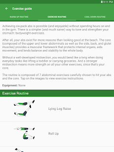 Ultimate Ab & Core Workouts- screenshot thumbnail