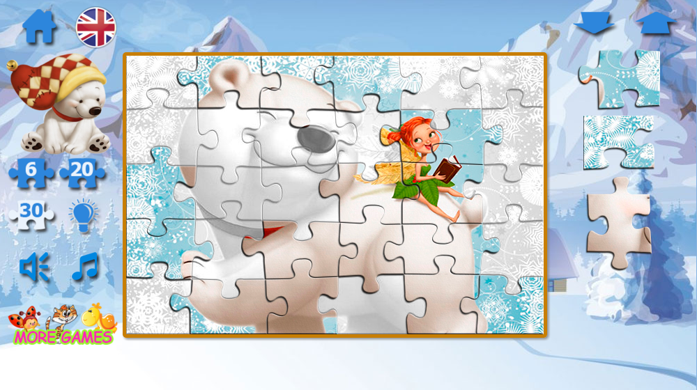 Puzzle fairies and bears- screenshot