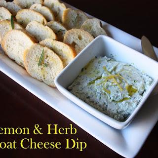 Lemon & Herb Goat Cheese Dip