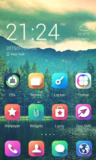 Colors Theme - ZERO Launcher