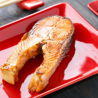 Baked Trout In Honey-soy Sauce