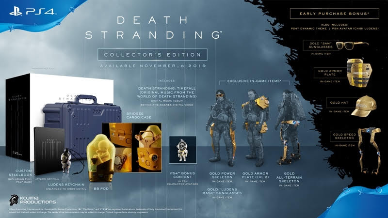 DEATH STRANDING Deluxe Edition