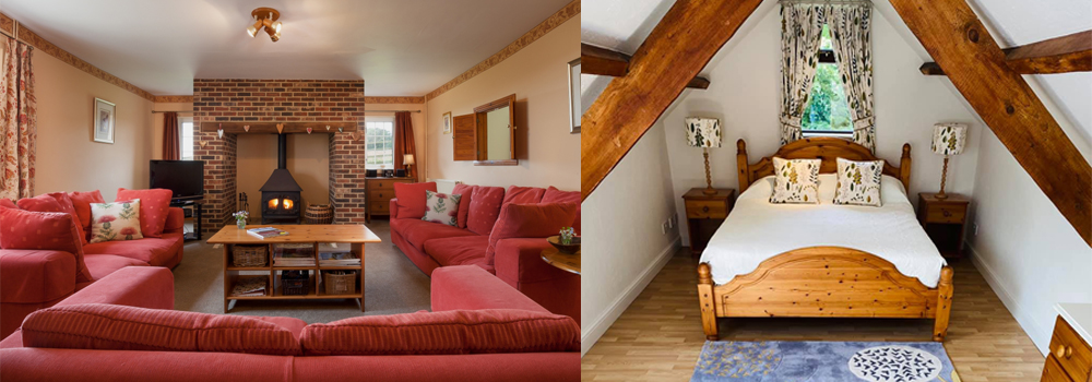 The accommodation at Devon Farm Holidays is of the highest quality for a lovely holiday in Devon.