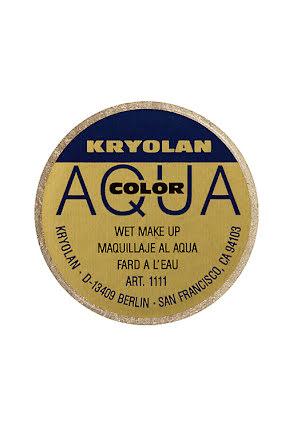Aqua liten met, Guld